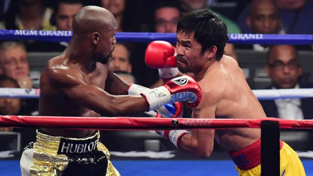 Mayweather vs. Pacquiao highlights
