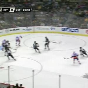 Marc-Andre Fleury Save on Kyle Okposo (04:15/1st)