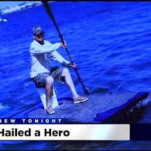 Turlock School Teacher Uses Boat He Invented To Rescue Man From Tuolumne River