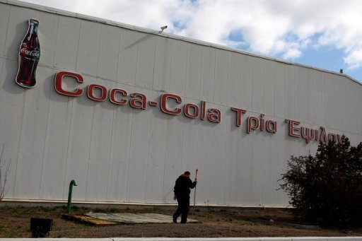 &lt;p&gt;A man walks by a Coca-Cola company factory in Thessaloniki, Greece, in February 2012. Coca-Cola&#39;s main European subsidiary that is based in Athens on Thursday announced a voluntary share exchange to establish a listing on the London stock exchange and a potential inclusion on the FTSE 100.&lt;/p&gt;