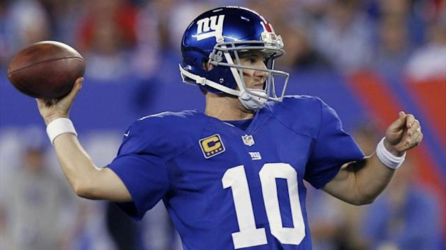 New York Giants quarterback Eli Manning (Reuters)