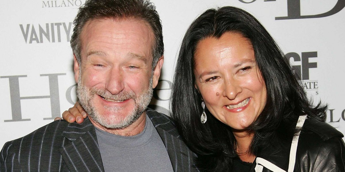 robin williams wife marsha
