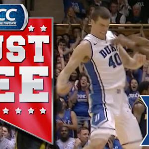 Great Sequence from Duke's Marshall Plumlee | ACC Must See Moment