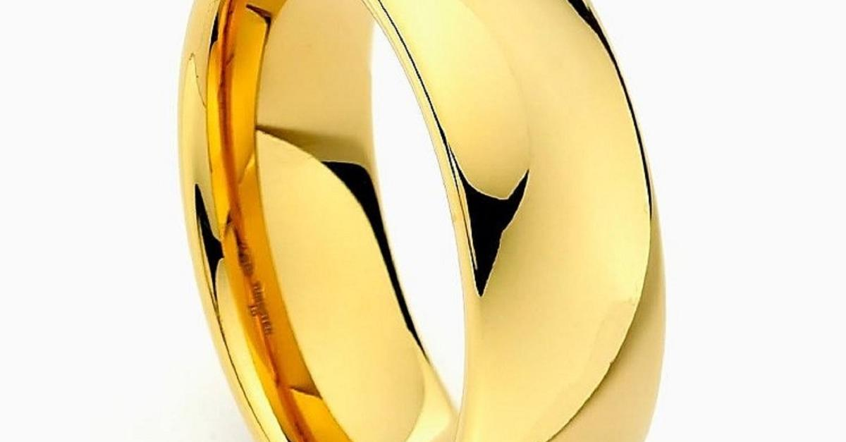 One Day Sale - Gold Tungsten Rings Just $50 each