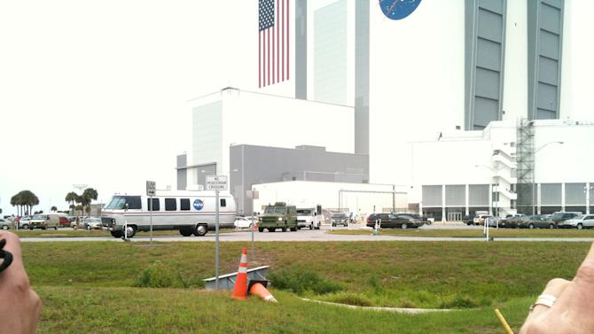 Space Shuttle Endeavour's Launch Scrubbed