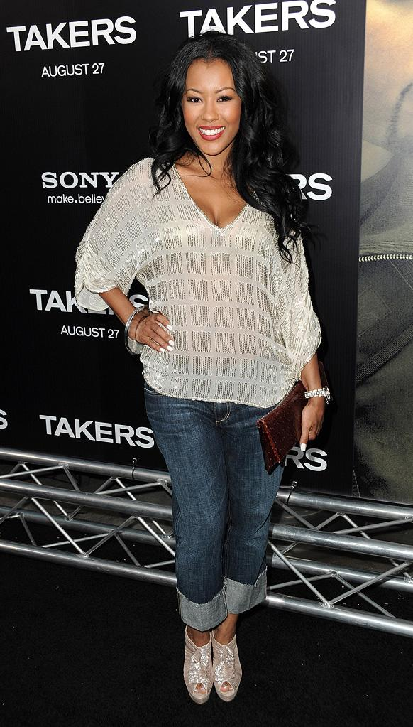 Takers LA Premiere 2010 Denyce Lawton