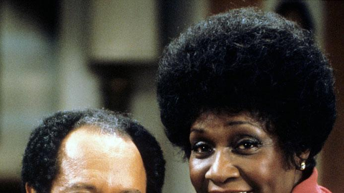 George and Weezy Jefferson (The Jeffersons)
