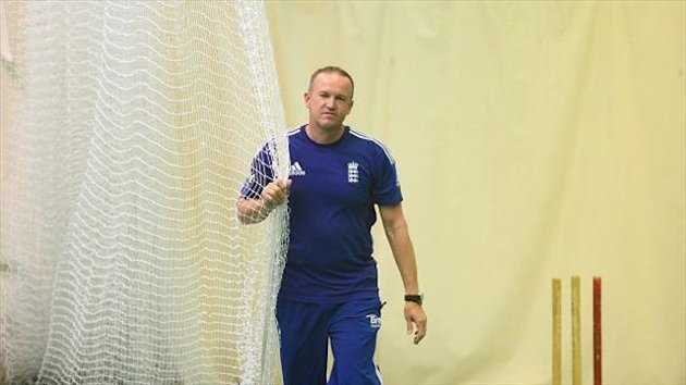Andy Flower, pictured, was allowed to delegate responsibility for limited-overs internationals to Ashley Giles last November