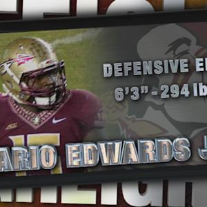 2014 Official Highlights | FSU DE Mario Edwards