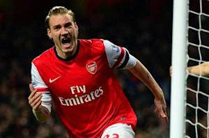Arsenal 2-0 Hull City: Bendtner and Ozil see off Tigers