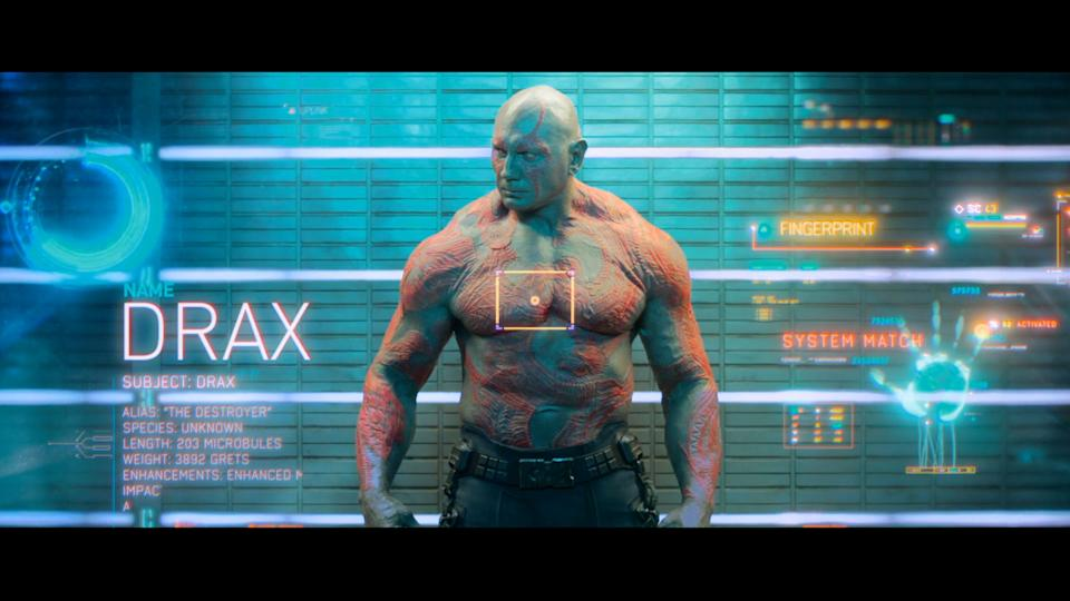 'Guardians of the Galaxy' Profile: Drax