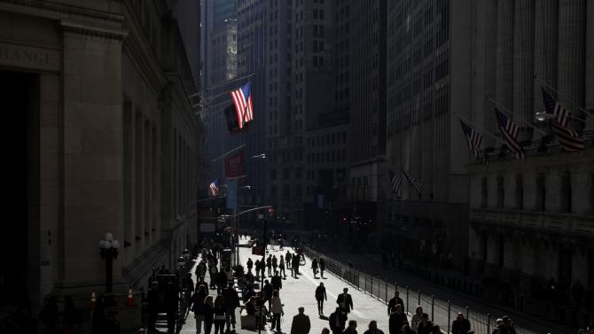 For many, rally into Dow record feels empty