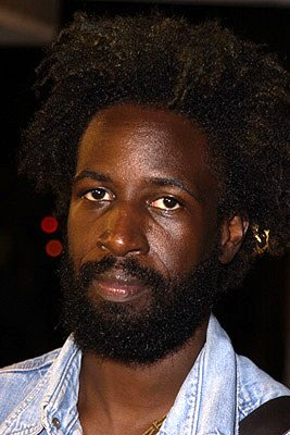Saul Williams at the Westwood premiere of K-Pax