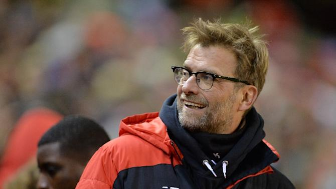 Liverpool's German manager Jurgen Klopp