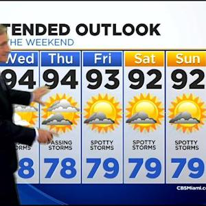 CBSMiami.com Weather @ Your Desk 7/29 11:30 P.M.