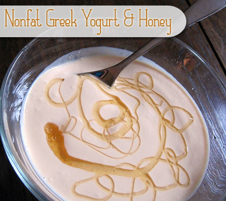 Nonfat Greek Yogurt with Honey