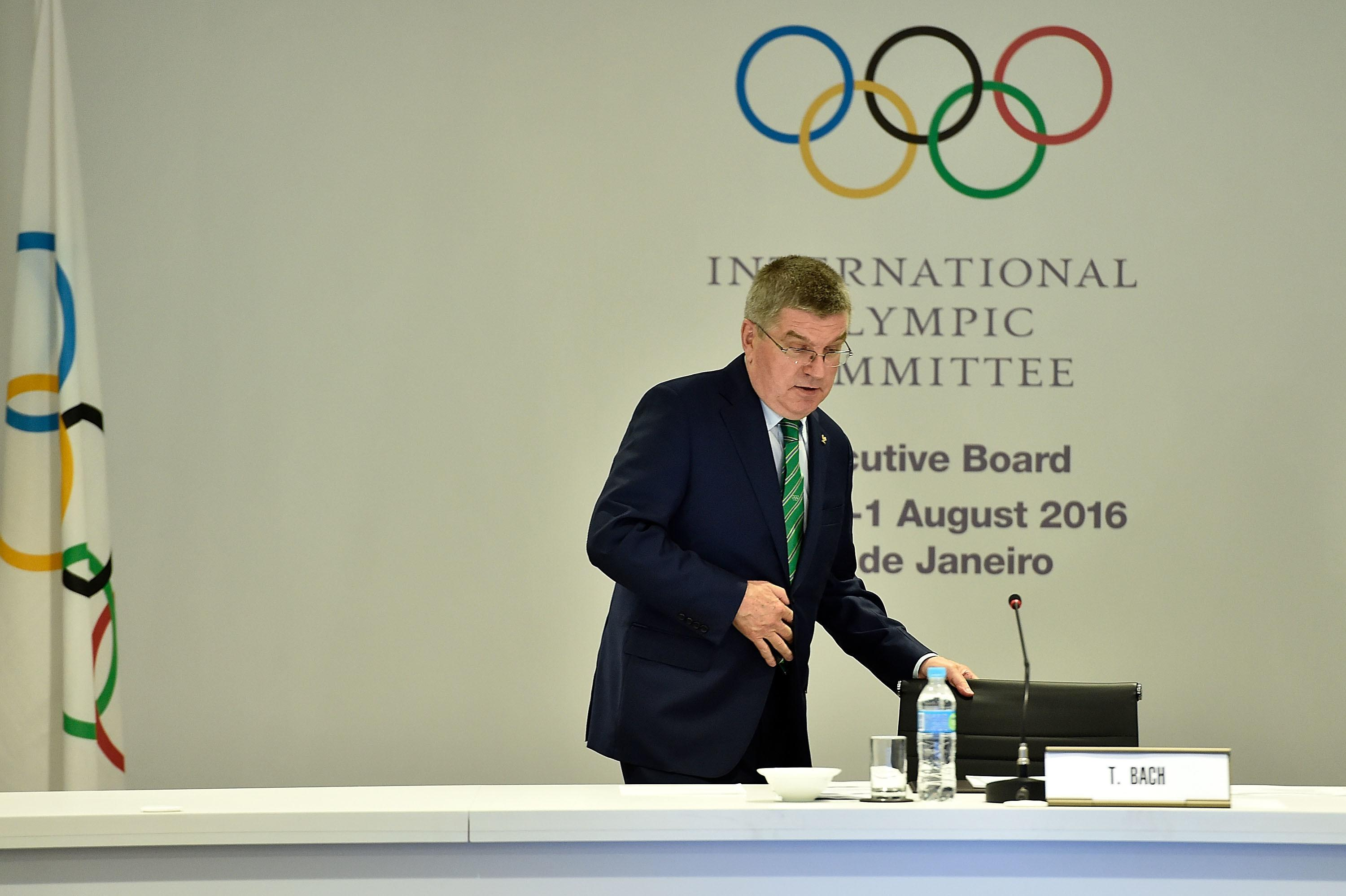 IOC sets up 3-person panel to rule on Russian entries
