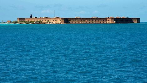 Camping in the Dry Tortugas National Park