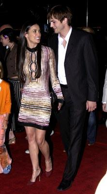 Premiere: Demi Moore and Ashton Kutcher at the LA premiere of Columbia's Charlie's Angels: Full Throttle - 6/18/2003