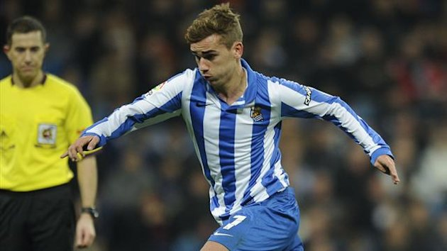 FOOTBALL 2013 Real Sociedad - Antoine Griezmann
