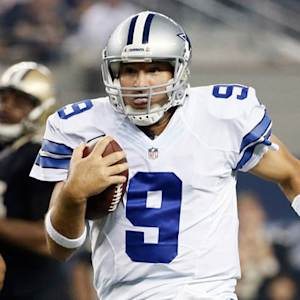 Dallas Cowboys quarterback Tony Romo 21-yard scramble