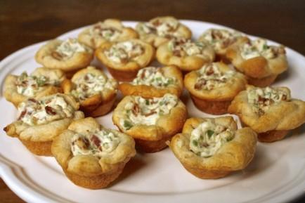 Cheesy Bacon Jalapeno Cresent Bites