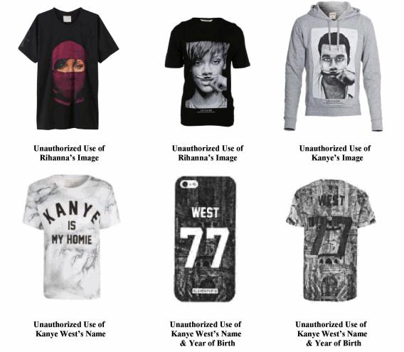 Rihanna, Kanye West, Beyoncé, Jay Z, and Pharell Are All Suing This French Clothing Company