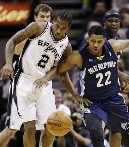 Parker and Duncan help Spurs rout Grizzlies
