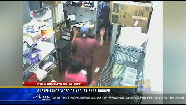 Police release video of Hillcrest robbery