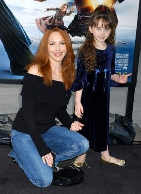 Amy Yasbeck and daughter Stella at the Hollywood premiere of Paramount Pictures' Lemony Snicket's A Series of Unfortunate Events