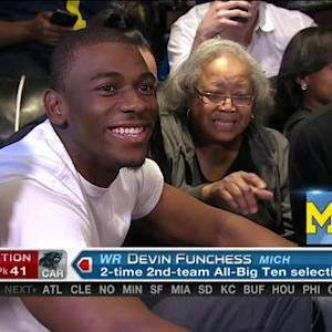 Carolina Panthers pick wide receiver Devin Funchess No. 41 in 2015 NFL Draft