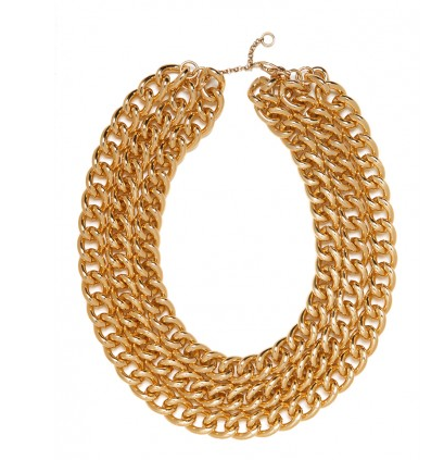 Gold Triple Necklace, $34