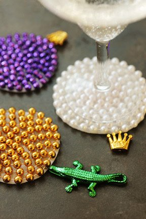 Beaded Coasters