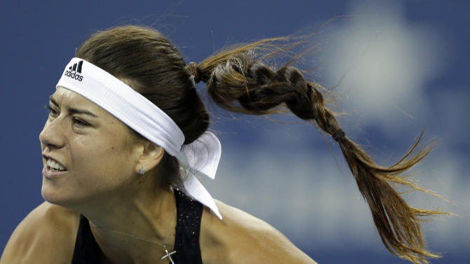 Bouchard wins in 3 sets, reaches US Open 3rd round