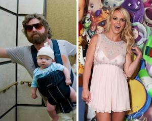 Zach Galifianakis, Britney Spears -- WireImage