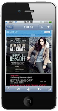 Mobile Marketing And Email: 4 Ways To Use Them Together image iphone