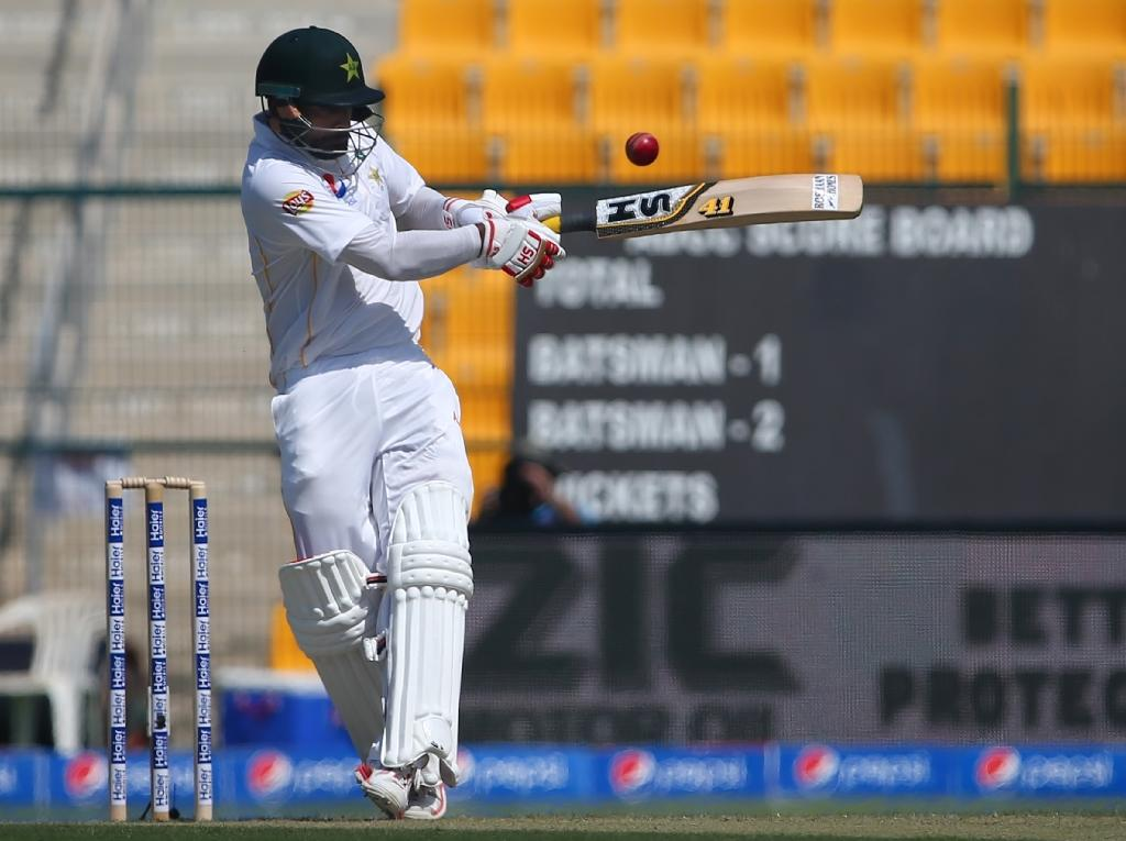 Hafeez misses ton as Pakistan reach 173-2 in first England Test