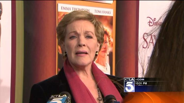 "Stars Turn Out for Premiere of ""Saving Mr. Banks"""