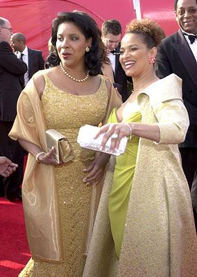 Phylicia Rashad and Debbie Allen 73rd Academy Awards Los Angeles, CA  3/25/2001