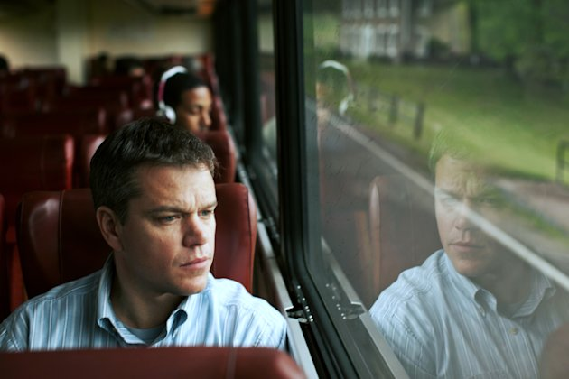 "This undated publicity film image provided by Focus Features shows Matt Damon starring as Steve Butler in Gus Van Sant's contemporary drama, ""Promised Land,"" a Focus Features release. (AP Photo/Focus"