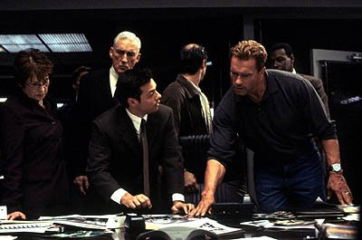 Millie Slavin , Madison Mason , Bruce Ramsay and Arnold Schwarzenegger in Warner Brothers' Collateral Damage