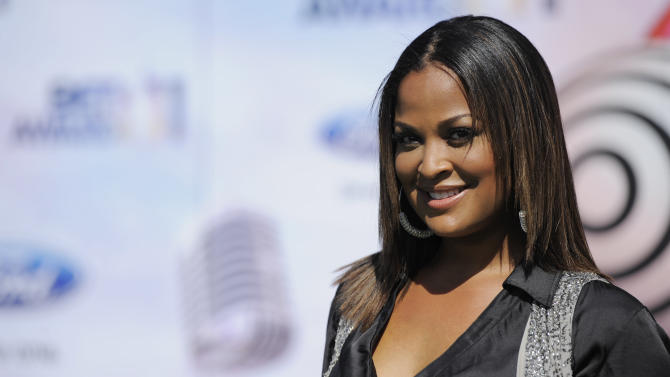 Laila Ali arrives at the BET Awards on Sunday, June 26, 2011, in Los Angeles. (AP Photo/Chris Pizzello)
