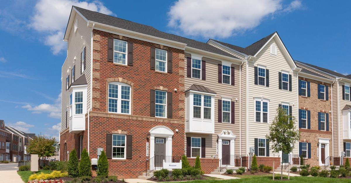 New urban-style townhomes in Upper Marlboro