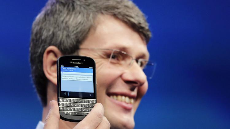 New keyboard BlackBerry in US could take months