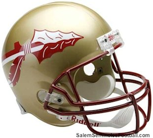 Salem Seminoles football helmet