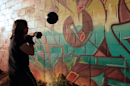 Shadowball portable punching bag packs physics into every hit