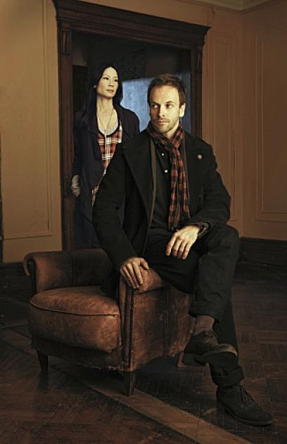 Lucy Liu and Jonny Lee Miller in CBS' 'Elementary,' which will air Thursdays at 10 PM in Fall 2012 -- CBS