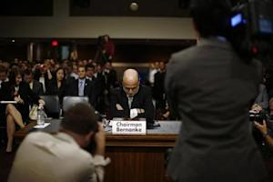 U.S. Federal Reserve Chairman Bernanke at a Joint Economic Committee hearing in Washington