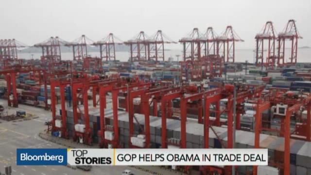 GOP Helping Obama to Complete Pacific Trade Deal