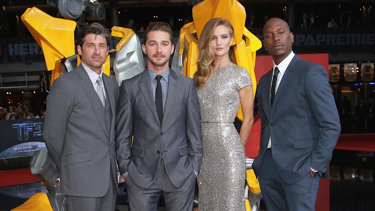 Transformers Dark of the Moon Premiere 2011 Patrick Dempsey Shia LaBeouf Rosie Huntington Whiteley Tyrese Gibson